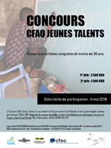 6 FEBRUARY 2018 | Make way for young talent - a highly original competition in Kinshasa!