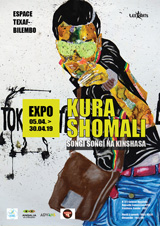 05 APRIL 2019 | SONGI SONGI NA KINSHASA - A Kura Shomali solo exhibition